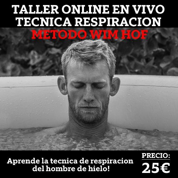 metodo wim hof online español