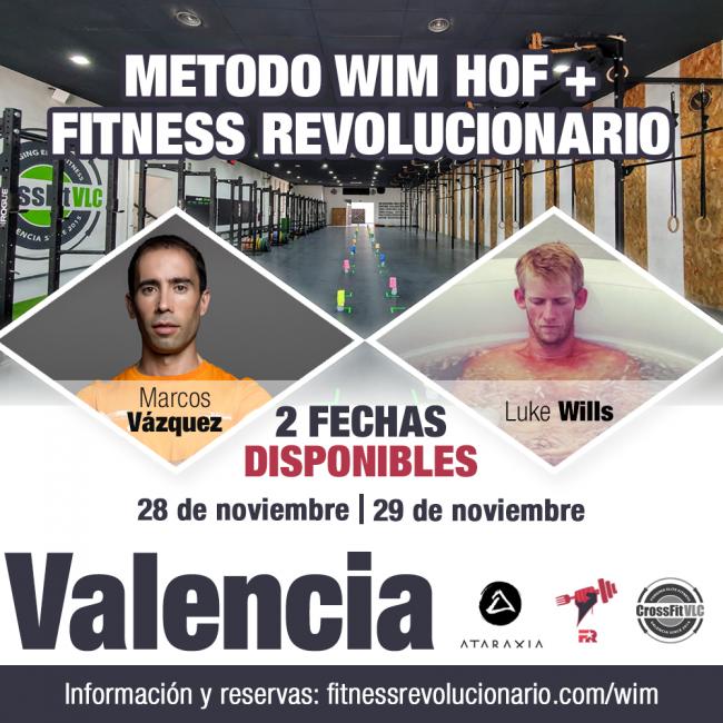Wim Hof Fitness Revolucionario Valencia